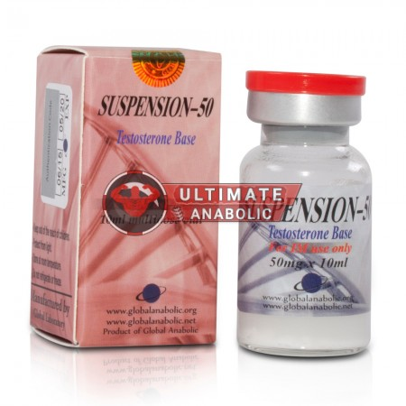 Global Anabolic Testosterone Suspension 50mg